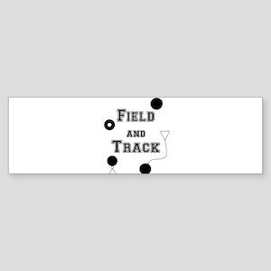 Field And Track Thrower Bumper Sticker