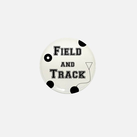Field And Track Thrower Mini Button
