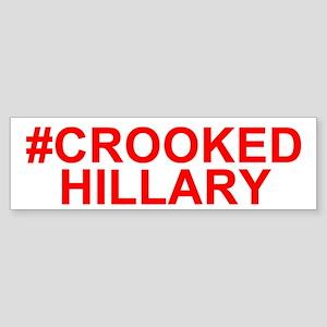 Crooked Hillary Bumper Sticker