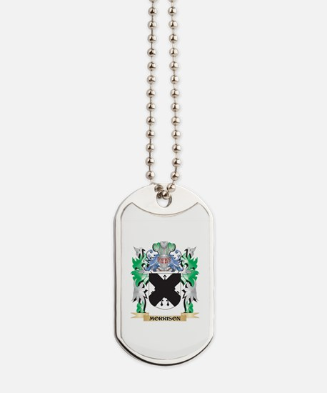 Morrison Coat of Arms - Family Crest Dog Tags
