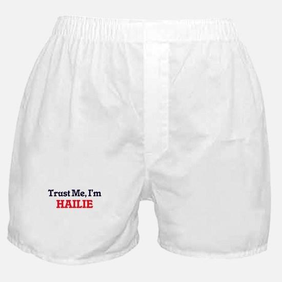 Trust Me, I'm Hailie Boxer Shorts
