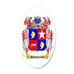 Stephanelli Oval Car Magnet