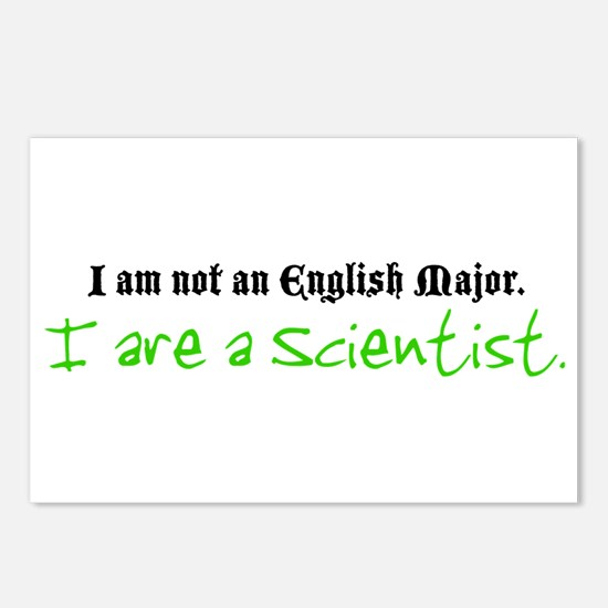 I are a Scientist Postcards (Package of 8)