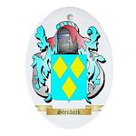 Stenback Oval Ornament