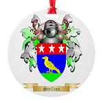 Stellino Round Ornament