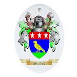 Stellino Oval Ornament