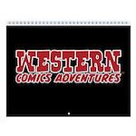 Western Comics Adventures 2018 Wall Calendar