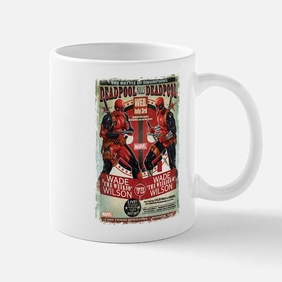 deadpool fight Mug
