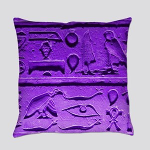 Hieroglyphs20160303 Everyday Pillow