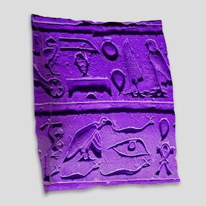Hieroglyphs20160303 Burlap Throw Pillow