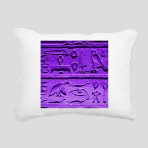 Hieroglyphs20160303 Rectangular Canvas Pillow
