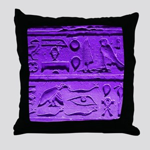 Hieroglyphs20160303 Throw Pillow