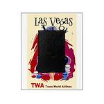 TWA Fly to Las Vegas Vintage Art Print Picture Fra