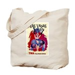 TWA Fly to Las Vegas Vintage Art Print Tote Bag