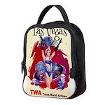 TWA Fly to Las Vegas Vintage Art Print Neoprene Lu
