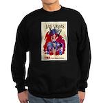 TWA Fly to Las Vegas Vintage Art Print Sweatshirt