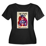 TWA Fly to Las Vegas Vintage Art Print Plus Size T
