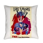 TWA Fly to Las Vegas Vintage Art Print Everyday Pi