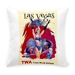 TWA Fly to Las Vegas Vintage Art Print Everyday Pi