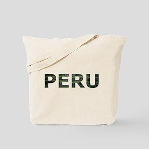 INCA TERRACES PERU Tote Bag