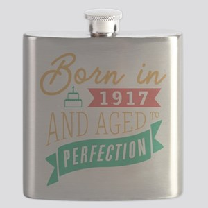 1917 Aged to Perfection Flask