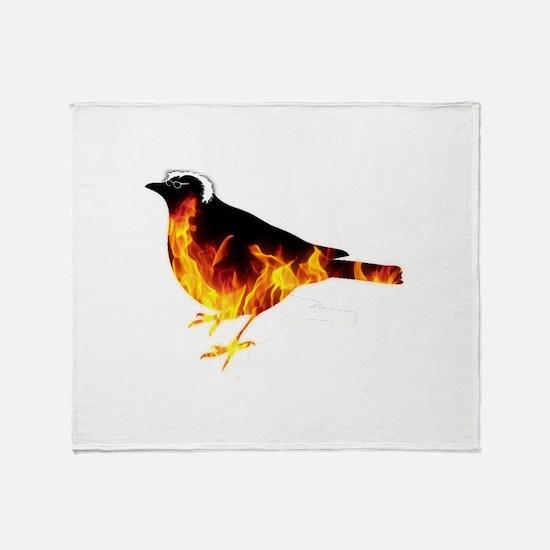 Feel the Bern Bird Throw Blanket