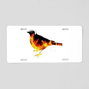 Feel the Bern Bird Aluminum License Plate