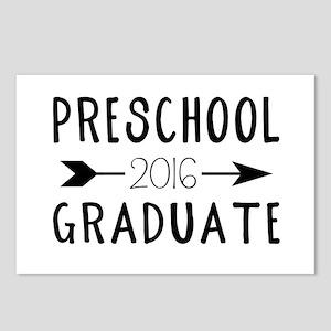 Preschool Graduate 2016 Postcards (Package of 8)