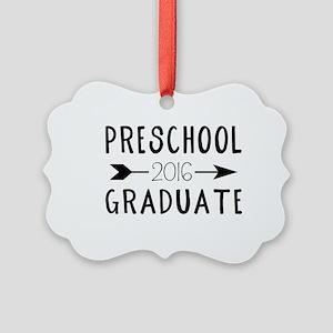 Preschool Graduate 2016 Picture Ornament