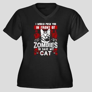 Save My Cat! Plus Size T-Shirt