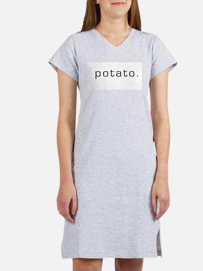 Cute Potatoes Women's Nightshirt