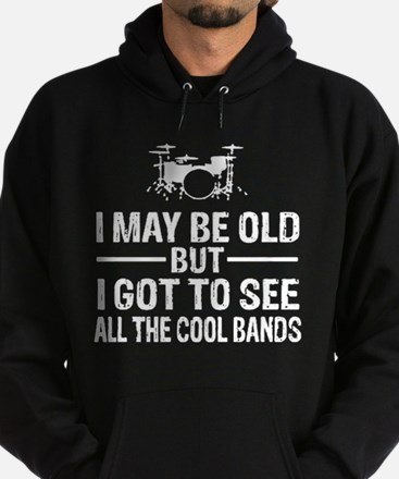 I may be old but i got to see the co Hoodie (dark)
