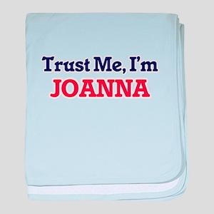 Trust Me, I'm Joanna baby blanket