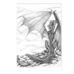 Watch Dragon Drawing Postcards -Package of 8