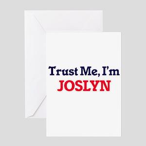 Trust Me, I'm Joslyn Greeting Cards
