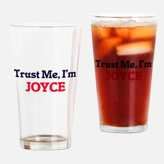 Trust Me, I'm Joyce Drinking Glass