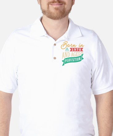 1978 Aged to Perfection Golf Shirt