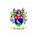 Stelli Sticker (Rectangle 50 pk)