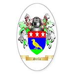 Stella Sticker (Oval 50 pk)
