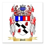 Stell Square Car Magnet 3