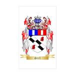 Stell Sticker (Rectangle 50 pk)