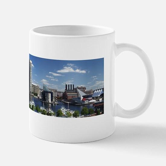 Small Mug W/ Baltimore Panorma Photograph Mugs