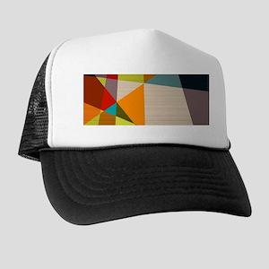 d17f3782e020d Mid Century Modern Geometric Trucker Hat