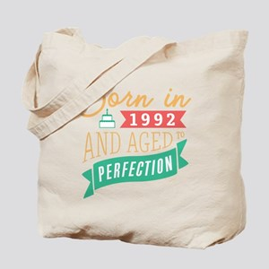 1992 Aged to Perfection Tote Bag