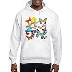 Beautiful Butterflies Hooded Sweatshirt