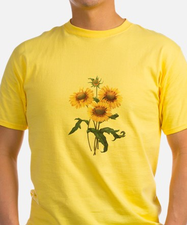 Redoute Sunflowers T-Shirt