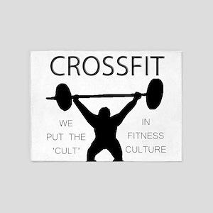 Fitness Culture 5'x7'Area Rug