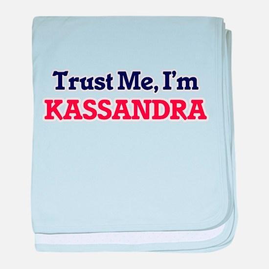 Trust Me, I'm Kassandra baby blanket