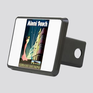 Miami Beach Art Deco Railway Print Rectangular Hit