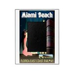 Miami Beach Art Deco Railway Print Picture Frame